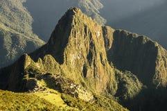 Macchu Picchu Montana overview stock photography