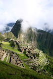 Macchu Picchu - Peru. Macchu Picchu taken from the sungate on the Inca Trail, Peru Stock Image