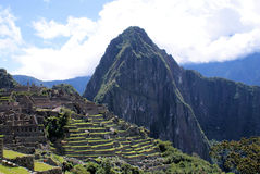 Macchu Pichu Lizenzfreie Stockfotos