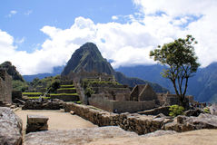 Macchu Pichu. Photos of the ancient city of Macchu Pichu and the incredible mountains of Peru stock images