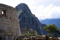 Macchu Pichu. Photos of the ancient city of Macchu Pichu and the incredible mountains of Peru stock photo