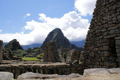 Macchu Pichu. Photos of the ancient city of Macchu Pichu and the incredible mountains of Peru royalty free stock image