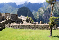 Macchu Pichu. Photos of the ancient city of Macchu Pichu and the incredible mountains of Peru royalty free stock photography