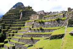 Macchu Pichu. Photos of the ancient city of Macchu Pichu and the incredible mountains of Peru Royalty Free Stock Images