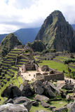 Macchu Pichu. Photos of the ancient city of Macchu Pichu and the incredible mountains of Peru royalty free stock photo