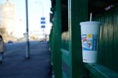 Macdonald的杯子 免版税库存图片