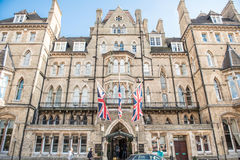 Macdonald Randolph Hotel, Oxford Stock Photos