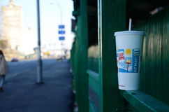 McDonalds cup Royalty Free Stock Image