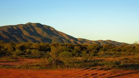 MacDonnell erstreckt sich Nationalpark, Nordterritorium, Australien Lizenzfreies Stockfoto