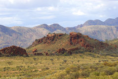 MacDonnell Ranges Royalty Free Stock Photography