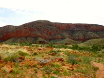 MacDonnell Ranges National Park, Nothern Territory, Australia Royalty Free Stock Photography