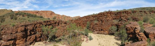 MacDonnell Ranges National Park, Nothern Territory, Australia. Beautiful  MacDonnell Ranges National Park, Nothern Territory, Australia Stock Photography