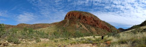 MacDonnell Ranges National Park, Nothern Territory, Australia. Beautiful  MacDonnell Ranges National Park, Nothern Territory, Australia Royalty Free Stock Image