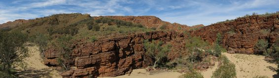 MacDonnell Ranges National Park, Nothern Territory, Australia. Beautiful  MacDonnell Ranges National Park, Nothern Territory, Australia Royalty Free Stock Photography