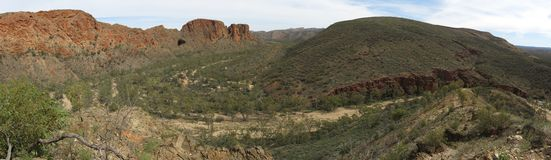 MacDonnell Ranges National Park, Nothern Territory, Australia Royalty Free Stock Images