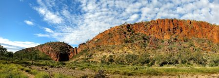 MacDonnell Ranges National Park, Nothern Territory, Australia. Beautiful  MacDonnell Ranges National Park, Nothern Territory, Australia Royalty Free Stock Photo
