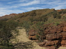 MacDonnell Ranges National Park, Nothern Territory, Australia Stock Image