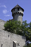 Mace Tower at Buda Castle royalty free stock photo