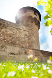 Mace Tower in Buda castle  Budapest, Hungary Royalty Free Stock Photography