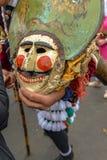 Maceda - carnaval galicien - l'Espagne image libre de droits