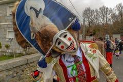 Maceda - carnevale gallego - la Spagna Fotografia Stock