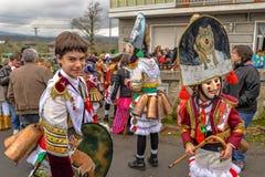 Maceda - Galicisch Carnaval - Spanje Stock Afbeeldingen