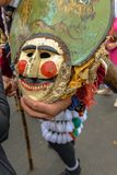 Maceda - Galicisch Carnaval - Spanje royalty-vrije stock afbeelding