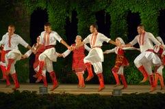Macedońscy ludowi tancerze zdjęcia stock