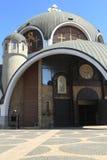 Macedoński Ortodoksalny kościół w Skopje Zdjęcia Stock