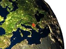 Macedonia del espacio Fotografía de archivo libre de regalías