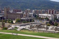 Macedonia, ex Yugoslav republic. South Europe. The capital of Macedonia Skopje Stock Photos