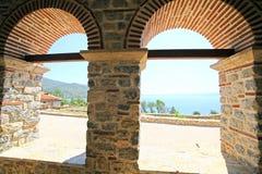 Macedonia, ex Yugoslav republic. South Europe. Old Orthodox church Stock Photo