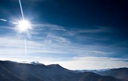 Macedonia krajobrazowa zimy. Zdjęcia Stock