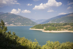 Macedonia  - lake during summer Royalty Free Stock Photo
