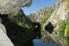 Macedonia, Matka Canyon Royalty Free Stock Photos