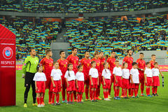 Macedonia national football team Royalty Free Stock Images
