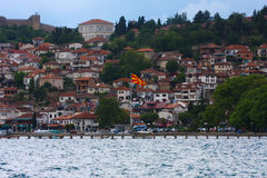 macedonia ohrid Arkivfoto