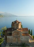 Macedonia, Ohrid/Ochrid, Saint Jovan Kaneo Temple Royalty Free Stock Photo