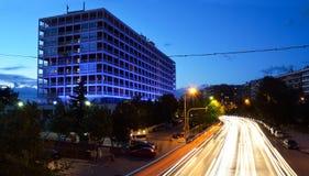 Macedonia palace hotel in Thessaloniki, Greece Stock Image