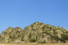 Macedonia, Prilep Region, Treskavec, Rock Formations, Stone Buil Royalty Free Stock Image