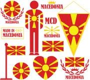 Macedonia. Vector illustration (EPS 10 Royalty Free Stock Photography