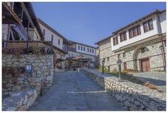 Macedonian by 15 arkivbild