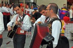 Macedonian Dance Group Stock Photos
