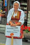 Macedonian Dance Group Royalty Free Stock Photo