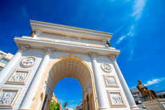 Macedonian gate Royalty Free Stock Photo