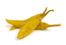 Macedonian hot pepper marinaded. Stock Image