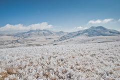 Macedonian meadows and mountains Royalty Free Stock Image