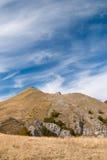 Macedonian mountains. Cumin Vrv in the massive of Jablanica, Struga, Macedonia Stock Photos