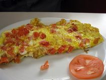 Macedonian Omelet stock photography