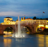 Macedonian's capital city Skopje Royalty Free Stock Image